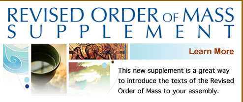 Revised Order of Mass Supplement