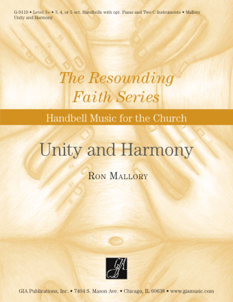 GIA Publications - Unity and Harmony - Handbells | Download Edition