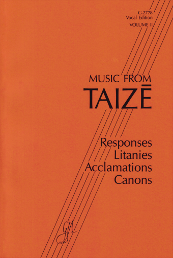Music from Taizé - Volume 2, Vocal edition