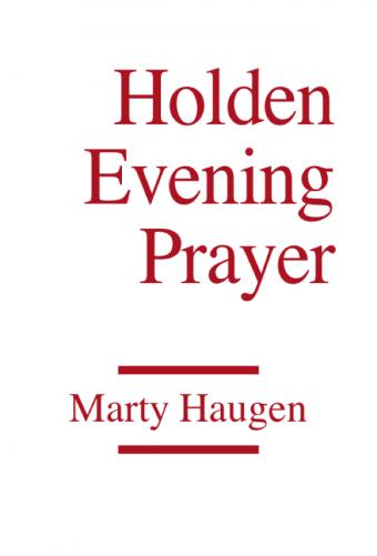 Holden Evening Prayer - Full Score