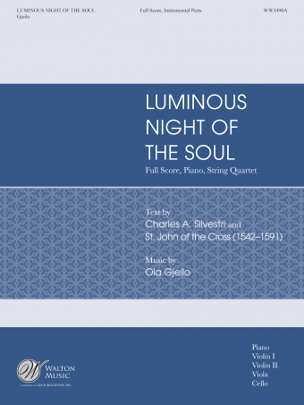 Luminous Night of the Soul (Full Score and Instrumental Parts)
