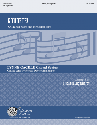 Gaudete! SATB (Full Score and Percussion Parts)