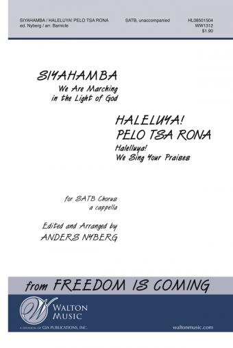 Siyahamba Sheet Music Pdf