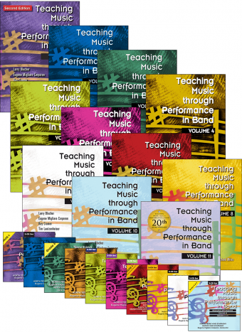 Teaching Music through Performance in Band - Volumes 1–11: Books and CDs Bundle