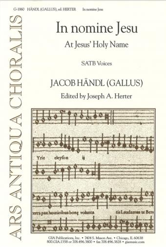 In nomine Jesu