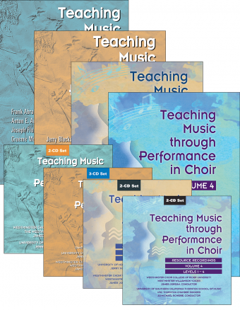Teaching Music through Performance in Choir - Volumes 1–4: Books and CDs Bundle