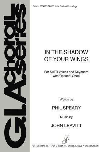 In the Shadow of Your Wings - SATB edition