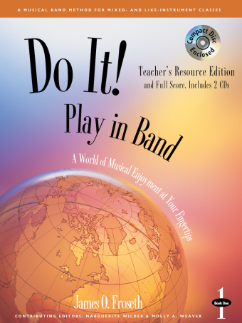 GIA Publications - Do It! Play In Band - Teacher's Resource Edition