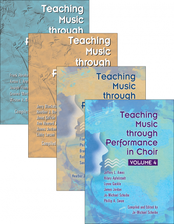 Teaching Music through Performance in Choir - Volumes 1–4: Books Only Bundle