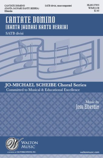 GIA Publications - Cantate Domino - SATB divisi | Download