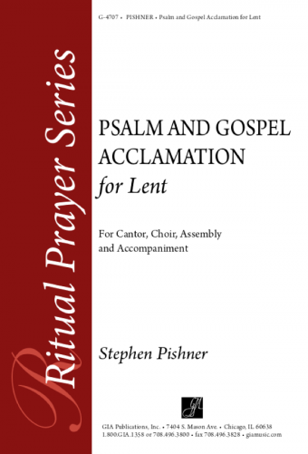 Psalm and Gospel Acclamation for Lent - Guitar edition