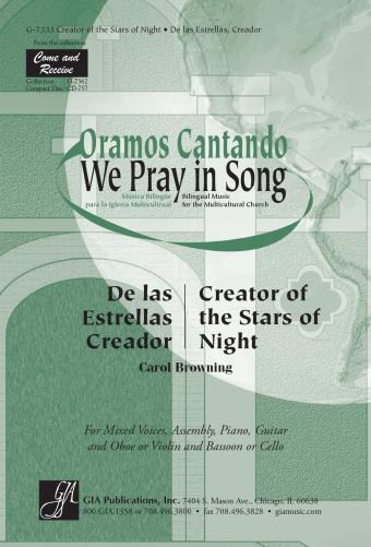 Creator of the Stars of Night / De las Estrellas, Creador - Guitar edition