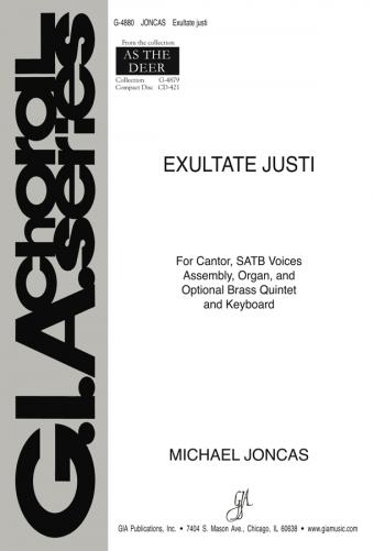 Exultate justi - Instrument edition
