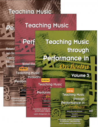 Teaching Music through Performance in Orchestra - Volumes 1–3: Books and CDs Bundle