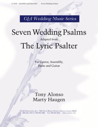GIA Publications   Seven Wedding Psalms