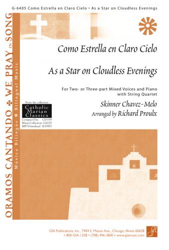 Como Estrella en Claro Cielo / As a Star on Cloudless Evenings - Instrument edition