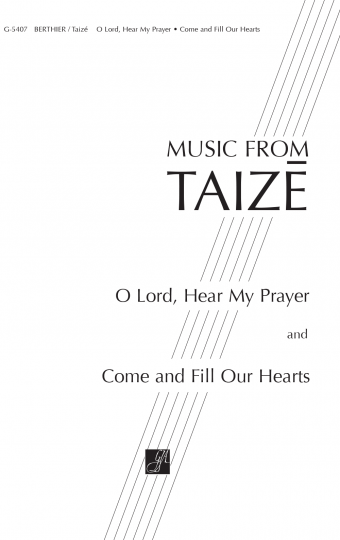 GIA Publications - O Lord, Hear My Prayer / Come and Fill