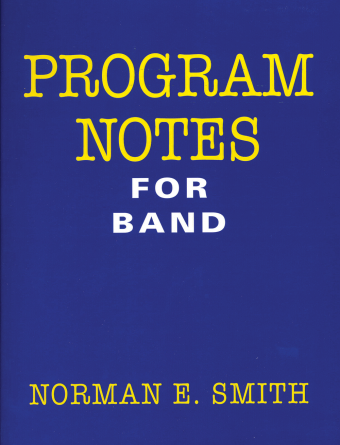 Program Notes for Band