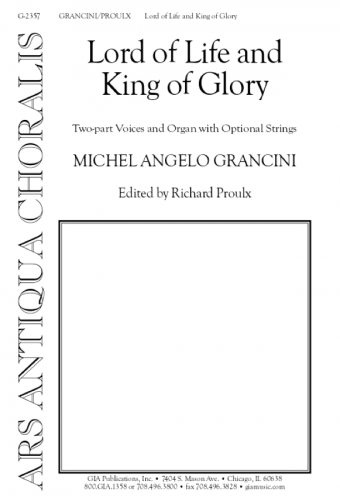 Lord of Life and King of Glory - Instrument edition