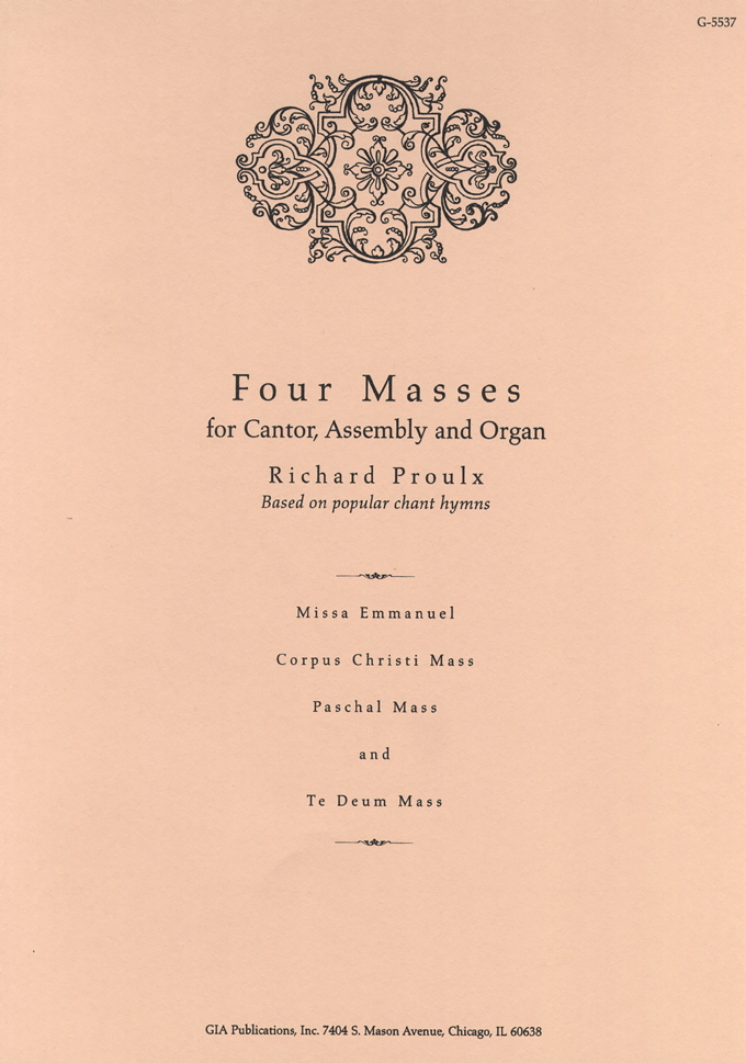 Four Masses for Cantor, Assembly, and Organ