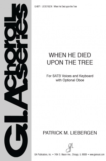 When He Died upon the Tree