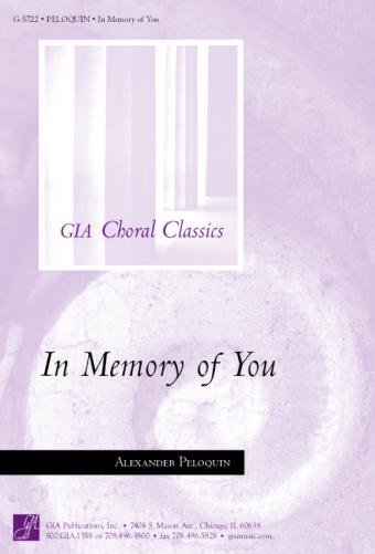 In Memory of You