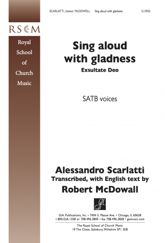 Sing Aloud with Gladness