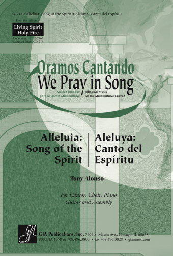 Alleluia: Song of the Spirit / Aleluya: Canto del Espiritu - Guitar edition