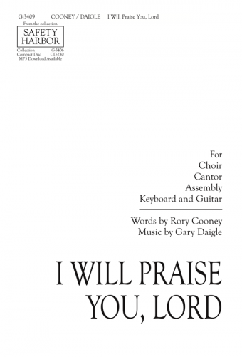 I Will Praise You, Lord