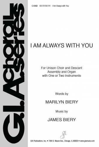 GIA Publications - I Am Always with You