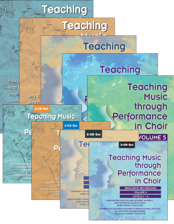 Teaching Music through Performance in Choir - Volumes 1–5: Books and CDs Bundle