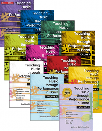 Teaching Music through Performance in Band - Volumes 1–11: Books Only Bundle
