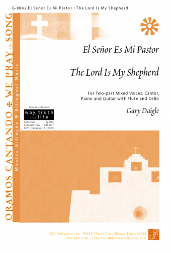 El Señor Es Mi Pastor / The Lord Is My Shepherd - Guitar edition