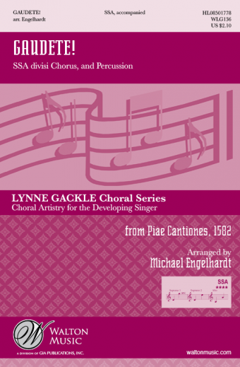 Gaudete! - SSA (Vocal Score)