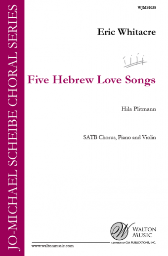 GIA Publications - Five Hebrew Love Songs (SATB)