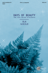 Days of Beauty (SSAA)