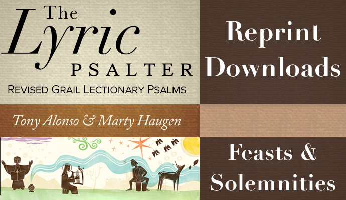 Lyric Psalter by Marty Haugen and Tony Alonso