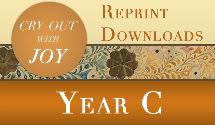 Cry Out With Joy year C: music for the liturgy of the word